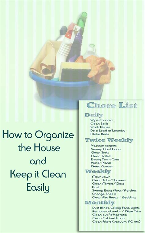 how to keep a clean house how to easily organize the house and keep it clean dengarden