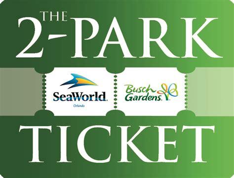 Busch Gardens Ticket by Busch Gardens And Seaworld Tickets Smalltowndjs