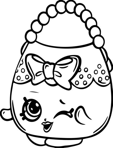 Bag Of Shopkins Coloring Pictures Printable Shopkins Coloring Pages Coloring Pictures For To Print