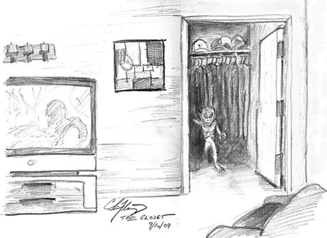 How To Draw A Closet by Chris Fleming Official Website