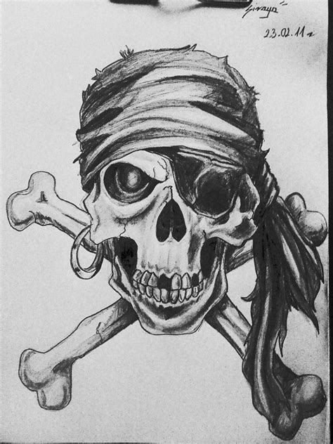 pirate skull tattoo designs pirate skull by sirayachin on deviantart