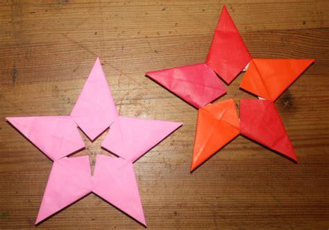 tutorial albero origami decorazioni natalizie stella origami a 5 punte