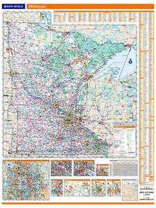 rand mcnally minnesota map one map place inc