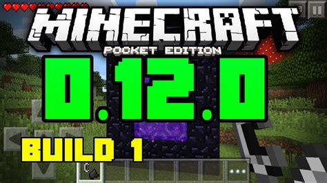 minecraft pe 1 0 0 apk minecraft pe 0 12 0 build 1 apk