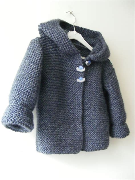 knitting pattern hooded sweater toddler ravelry paletot 224 capuche hooded baby jacket by mme