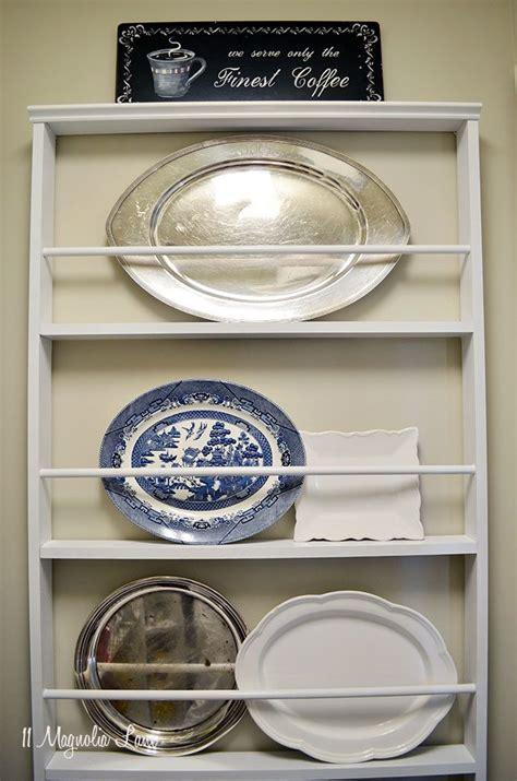 Diy Plate Rack by Diy Custom Plate Rack For 40 11 Magnolia