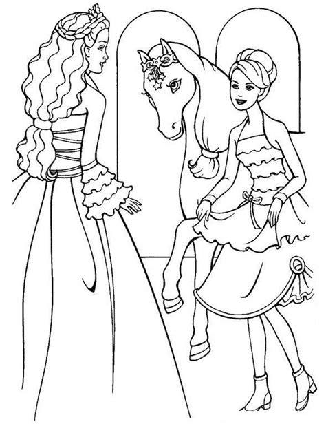 barbie girl coloring pages games printable coloring pages for girls barbie journalingsage com