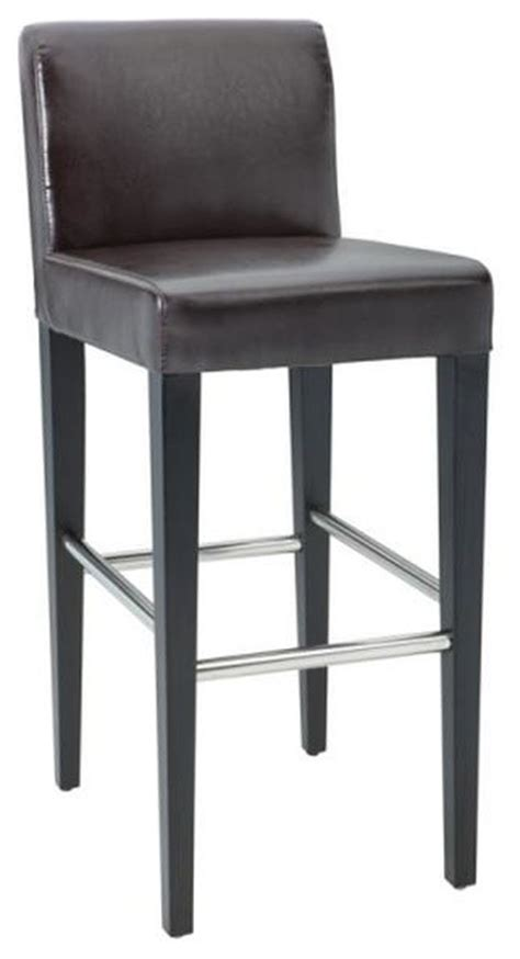 low back counter height bar stools lower back leather stool brown bar height bar stools