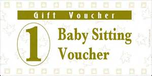 Babysitting Gift Voucher Template by 9 Best Images Of Printable Babysitting Voucher Free