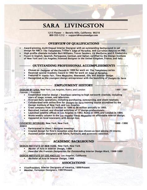 professional resume exle februari 2015