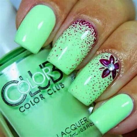 Green Nail Designs 2016