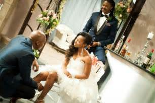 Generations dineo and phenyo s wedding blushing makoti