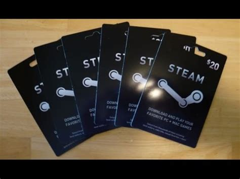 50 Steam Gift Card - steam gift card giveaway 100 50 20 youtube