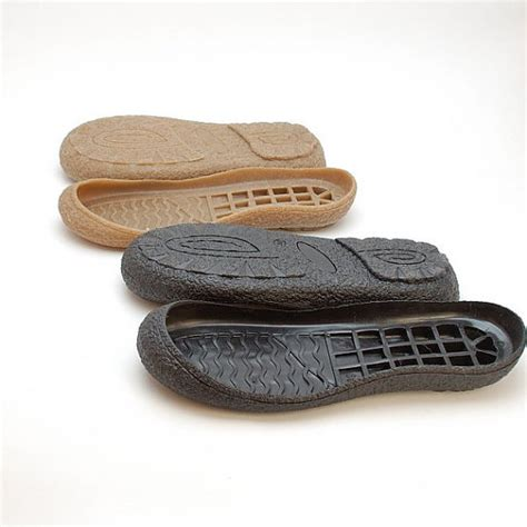 make slippers black rubber toe soles for your own projects supply for