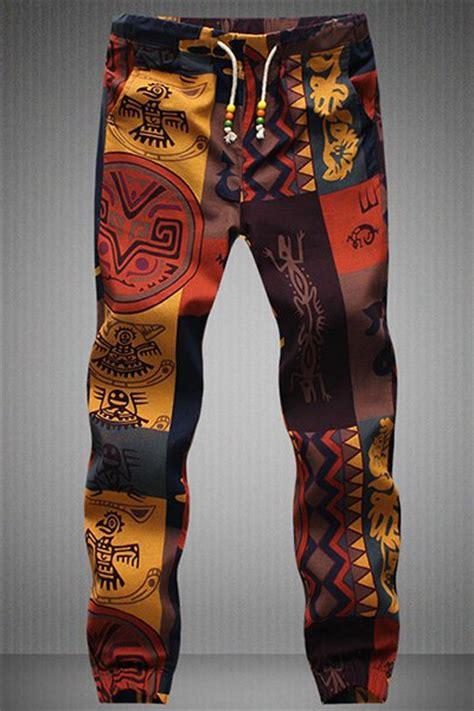 Jogger 3r Motif Size M L Xl 4 Drawstring Gecko Pattern Print Narrow Jogger