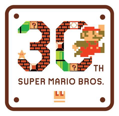 Mario Bros 30 file mario bros 30th anniversary svg mario