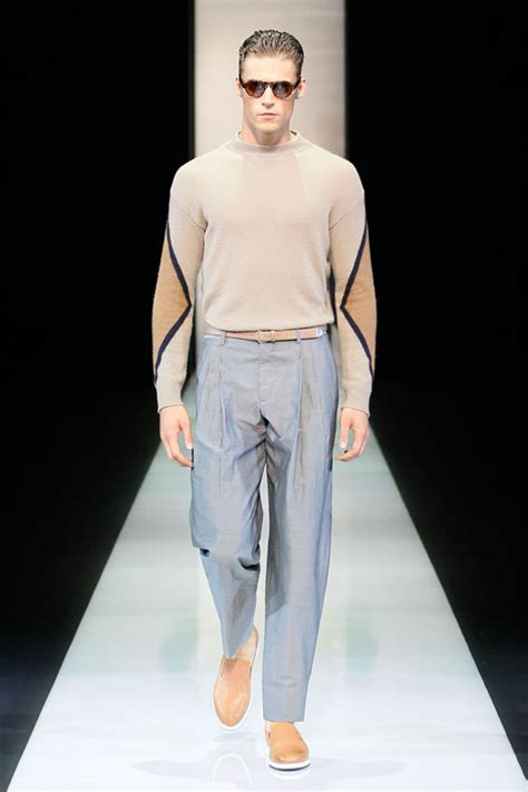 Catwalk To Carpet In Giorgio Armani by Giorgio Armani Ss13 Mens Catwalk Show Ftape