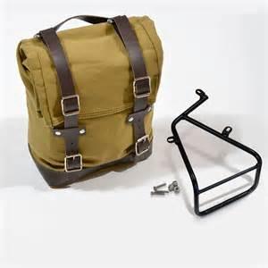 Handbag Wd 961 Beige unit garage side pannier frame bmw r nine t motostorm