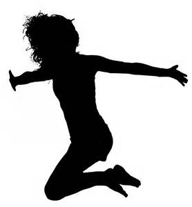 silhouette clip leaping silhouette free stock photo domain