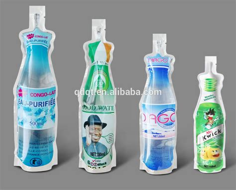 Standing Pouch 500 Ml supply 500ml plastic stand up pouch for mineral water