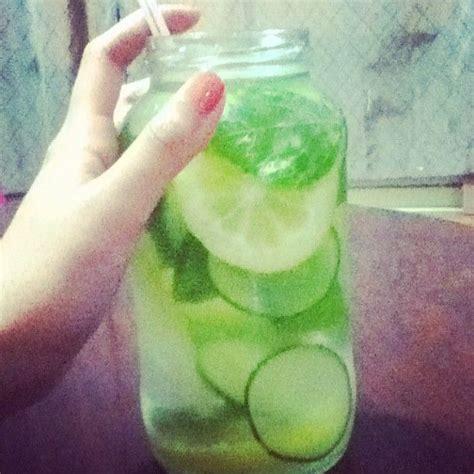 Lemon Cucumber Mint Leaf Detox by 7 Best Images About Drinks Juicing On