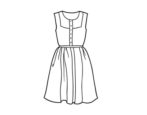 the dress book coloring book collette s dresses volume 4 books summer dress coloring page coloringcrew