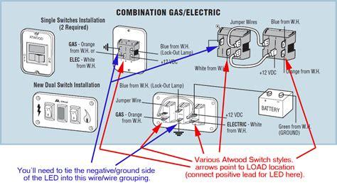 water heater wiring irv forums