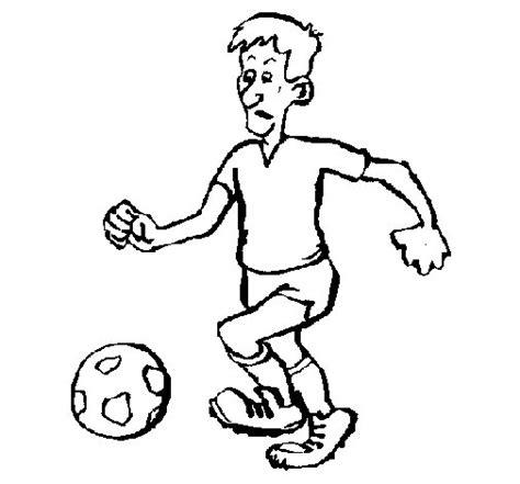 imagenes para pintar futbol dibujo de jugador de f 250 tbol para colorear dibujos net