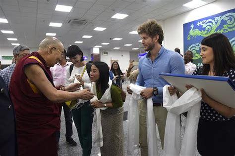tibetan bureau office his holiness the dalai lama meets with staffers of senior