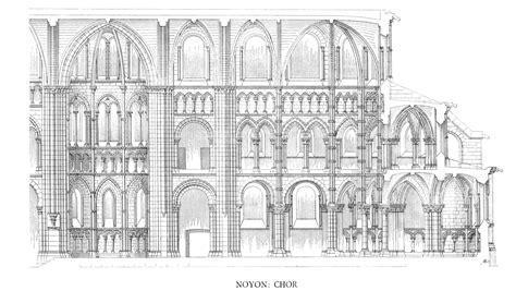Notre Dame Paris Floor Plan by Medieval Noyon