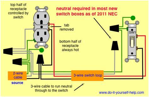 switch wiring diagram neutral wiring diagram
