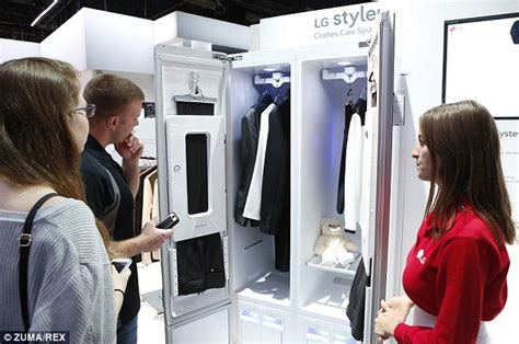 steam cabinet for clothes lg unveils hi tech home closet steamers closet that can
