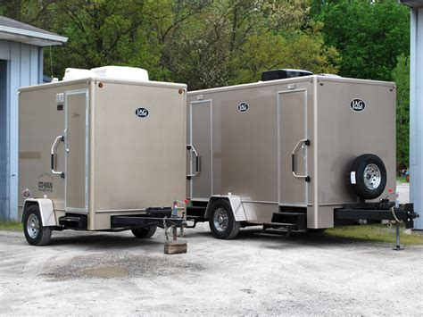 bathroom trailers portable restroom trailers deluxe vip toilet trailers