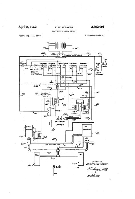 electric forklift truck wiring diagram wiring diagram