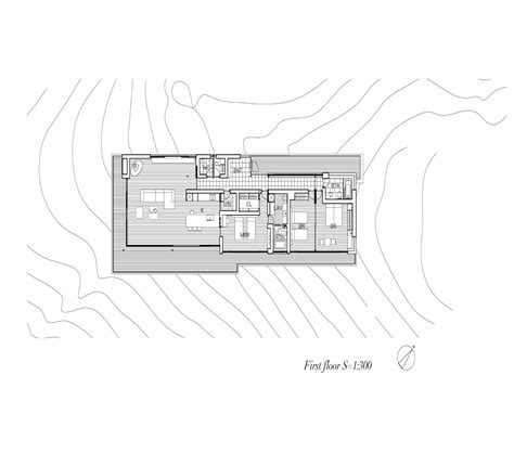 First Floor Plan Gallery Of House In Yatsugatake Kidosaki Architects