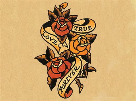 sailor jerry rose tattoo june softly biker happy 100th birthday norman