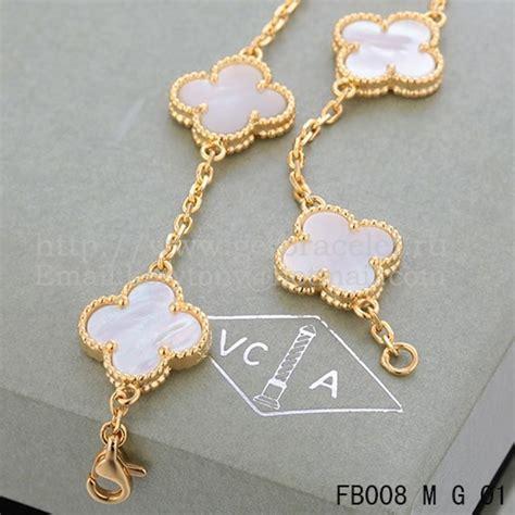 van cleef arpels vintage alhambra bracelet 5 motifs