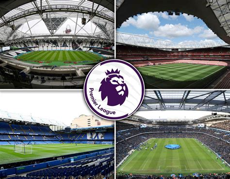 libro football grounds guide 2017 18 premier league stadiums every 2017 18 ground ranked by capacity football sport express co uk