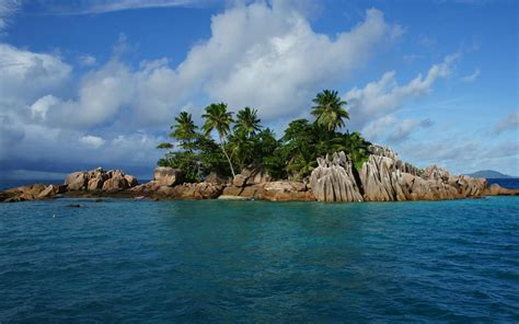 seychelles island nature landscape wallpaper 2560x1600