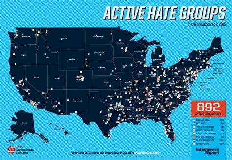map us hate groups there are 84 active hate groups in texas the most of any
