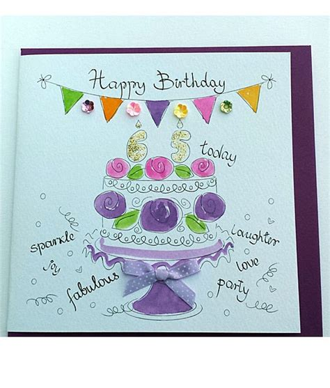 Happy Th Birthday Ecards by Happy 65th Birthday Cards Finished 65th Birthday Cards