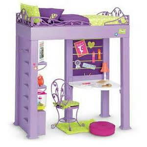 loft bed for dolls american or 18 quot doll houses amp accessories pinterest