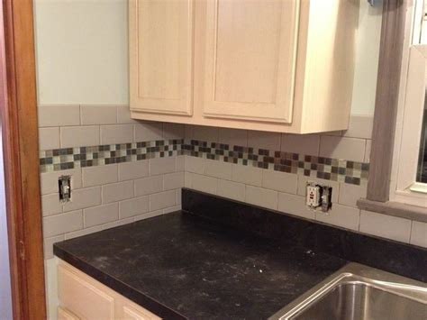 kitchen backsplash tile ideas subway glass glass subway tile backsplash ideas fick on around