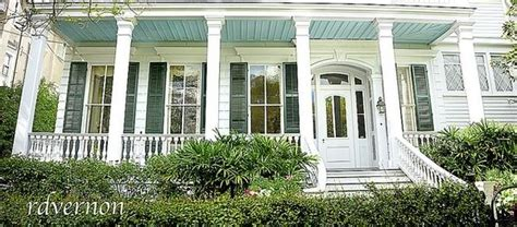 Windows For Porch Inspiration Porch With Blue Ceiling Window And Post Trim Porch Blue Porch Ceiling