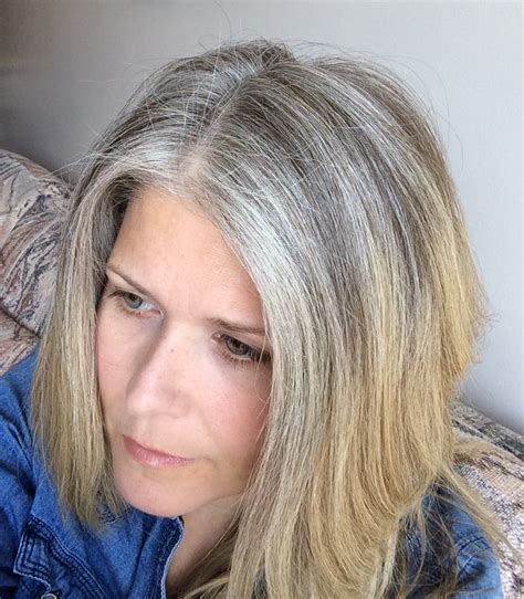 highlighting gray hair pictures 5 reasons i stopped coloring my hair hair photo and april 26