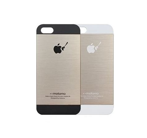 Motomo Ino Metal For Iphone 55s Whitegold motomo ino metal for iphone 5 no 2