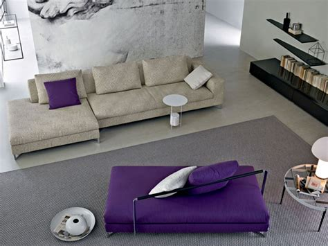 Living Room With Purple Sofa Purple Sofa In Living Rooms