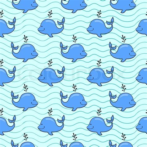 whale pattern background tumblr vector seamless pattern with whale on blue ocean