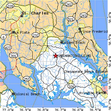 Mechanicsville, Maryland (MD) ~ population data, races ...