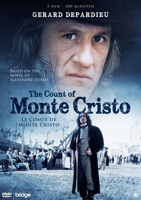 gerard depardieu the count of monte cristo the count of monte cristo dvd justwebshop nl